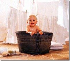 Полезные ванны для детей
